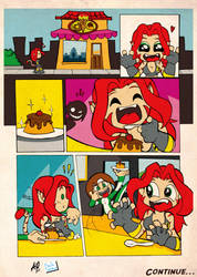 Mel and Jade show pg 01 by Captain-Paulo