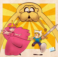 Adventure Time by Captain-Paulo