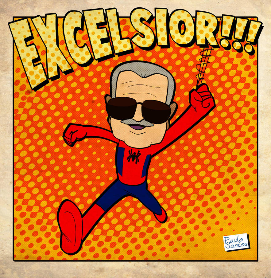 Farewell Stan Lee by Captain-Paulo