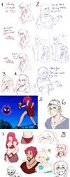 ..+Super sketchdump+.. [PKMN-Imperio] by Celia-tan