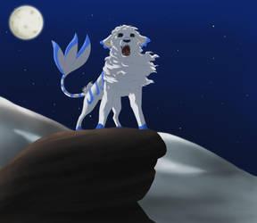Full Moon by AkatsukiYuna