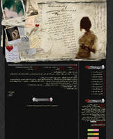 My Personal website layout by Inonalisa