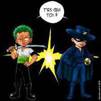 zoro vs zorro by charrytaker