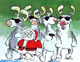 navidad-escoltas de santa by charrytaker