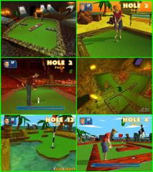 Crazy Golf World Tour by charrytaker