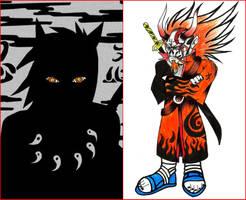 el maestro de los 6 caminos - ridoku sennin by charrytaker
