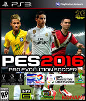 Pes 2016 caratula james by charrytaker