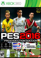 Pes 2016 caratula james xbox 360 by charrytaker