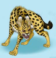 Mad Serval by Akril15
