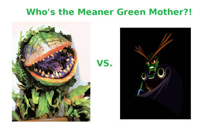 Audrey II vs Lord Brevon by JacobDSArt
