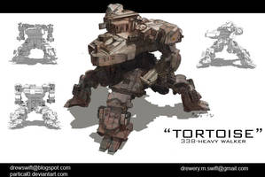 Heavy Walker Concept by partical0
