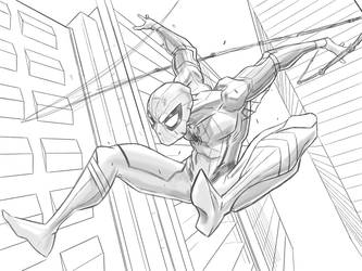 spiderman by partical0