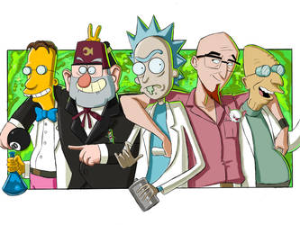 The Men of Science by partical0