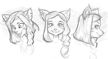 anthro head study by partical0