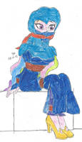 BURQA BONDAGE Principal Celestia MLPEG by Godzilla713