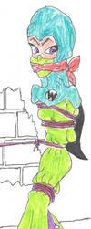 BURQA BONDAGE Pandora Pitstop by Godzilla713