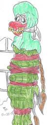 BURQA BONDAGE Christmas Vidalia Esquine by Godzilla713