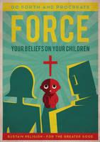 Anti-religion propaganda by Avise