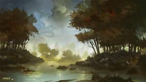 Painter 12 Test: Lagoon by ATArts