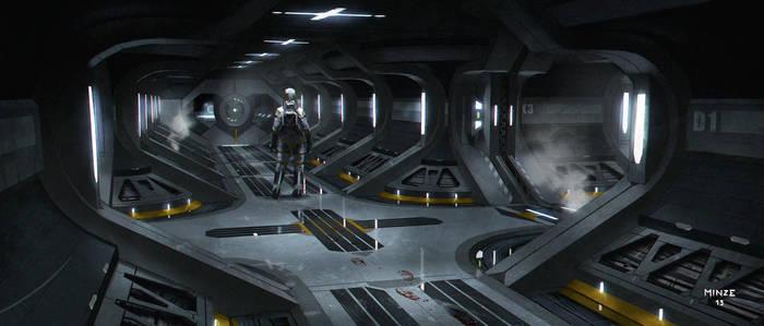 Sci Fi Corridor 2 by ATArts