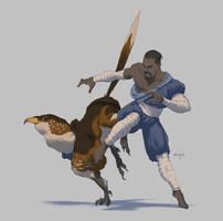 Character5: Monk by ATArts