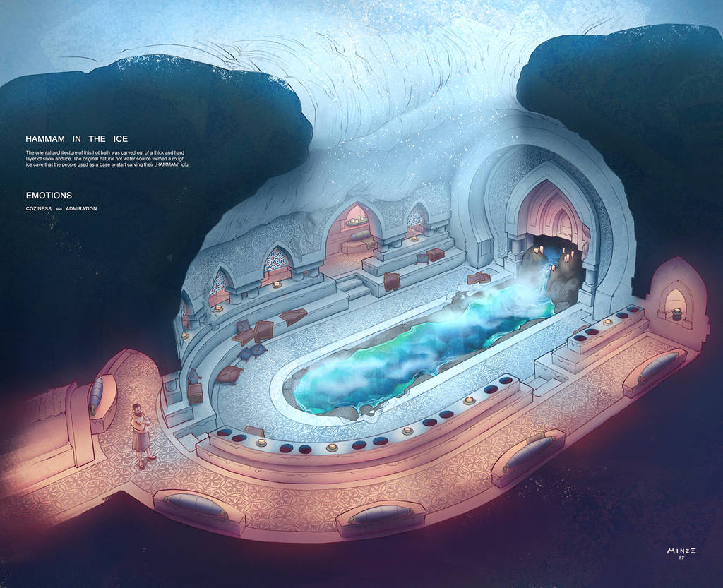 Hammam in the ice by ATArts
