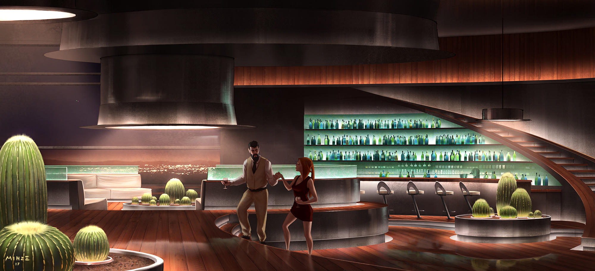 Private bar by ATArts