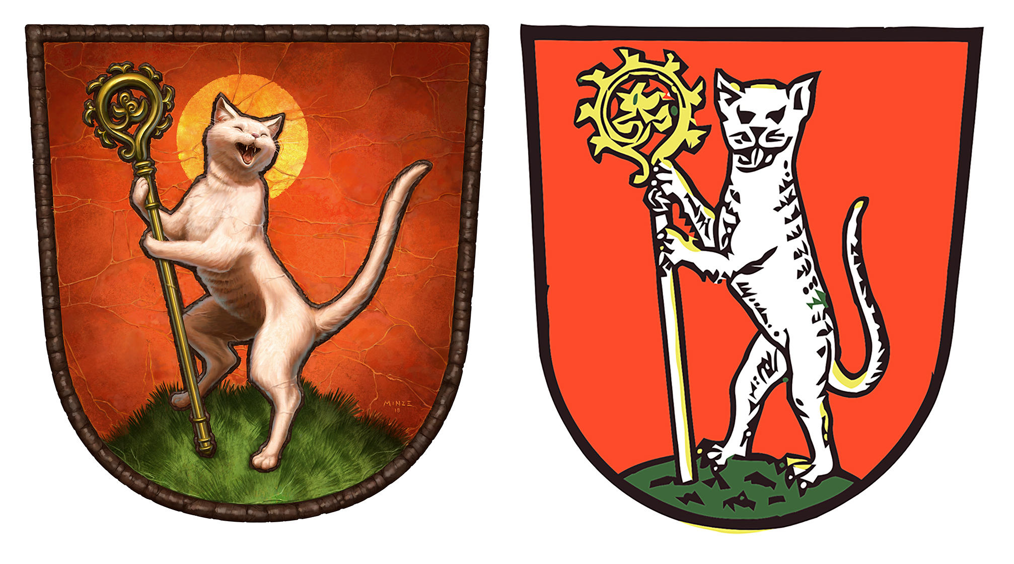 Hometown Katzwang Emblem Remake by ATArts