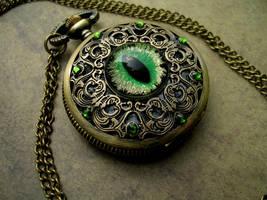 Custom - Lord OmegaBrawler - Regal Green Watch by LadyPirotessa