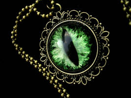 Forest Fire Dream - Large Pendant 24mm eye by LadyPirotessa