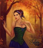 Silvara's Autumn - Artwork by SLefor by LadyPirotessa