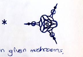 given mushrooms by C-Y-Y-A