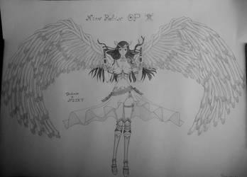 One piece fanart of Nico robin by DreAmSPainTeR