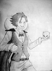 School sketches 2 (Vampire) by DreAmSPainTeR