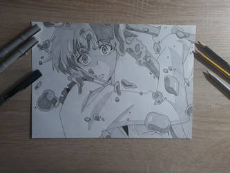 Yuno Gasai (Mirai Nikki) screenshot by Rena983