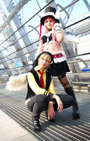Izumi and Meroko by Hinata-chaan