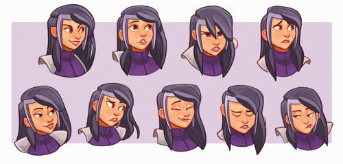 Sanctity Teen Expressions by Dark-S1ayer