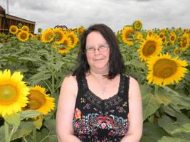 Paula Sunflowers by Kosmic-Stardust