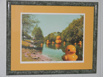 Rubber Duck Pond by PaigePixelDesigns by Kosmic-Stardust