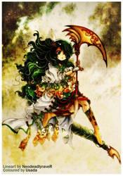 Charming Warrior by Red-Priest-Usada