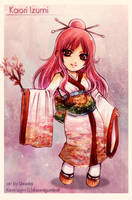 Chibi Commission: Kaori Izumi by Red-Priest-Usada