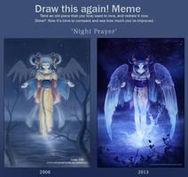 Night Prayer- improvement meme by Red-Priest-Usada