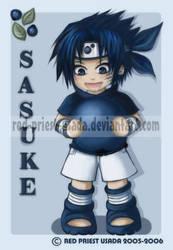 Chibi Fruit Ninja-Sasuke by Red-Priest-Usada