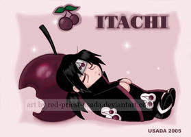 Chibi Fruit Ninja-Itachi by Red-Priest-Usada