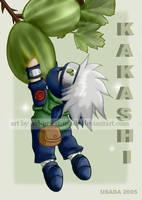 Chibi Fruit Ninja-Kakashi by Red-Priest-Usada