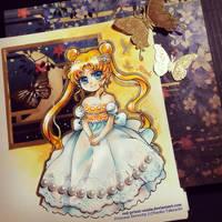 Chibi Princess Serenity by Red-Priest-Usada