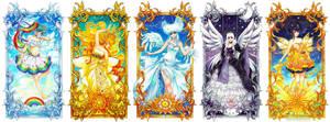 Rainbow, Sun, Cloud, Moon, Star set by Red-Priest-Usada