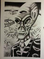 Alien by kingbyname