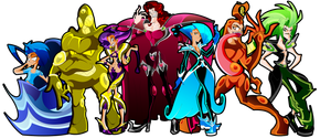 Seven Generals of Sin by Keytee-chan