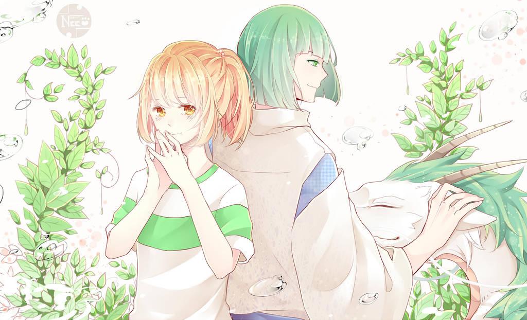 Spirited Away ChihiroxHaru by Kasanray